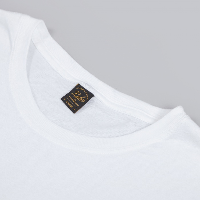 Luker By Neighborhood First Class Tee - White (Image 1)