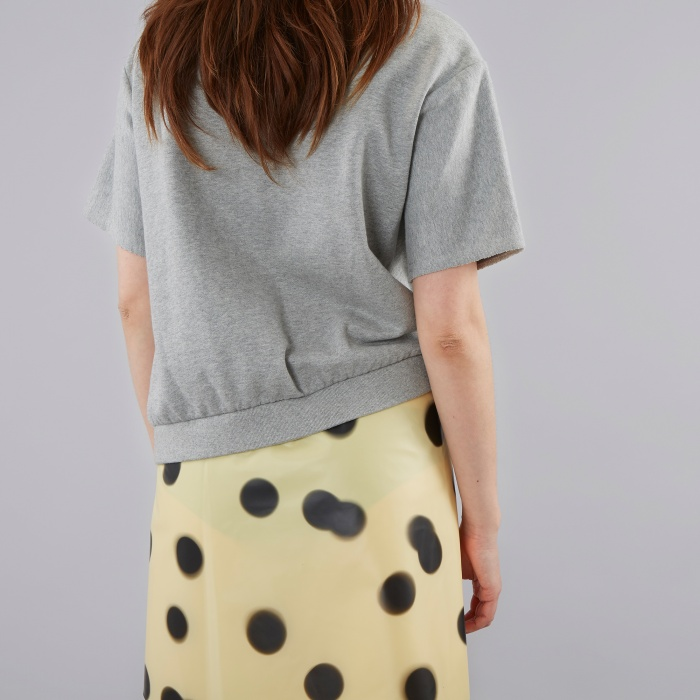 Marc By Marc Jacobs Marc By Marc Jacob Blurred Dot Dress - Grey/Yellow (Image 1)