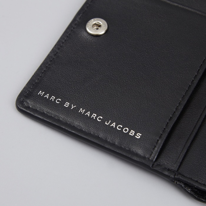Marc By Marc Jacobs Marc By Marc Jacob Sophisticato Emi Wallet - Black (Image 1)