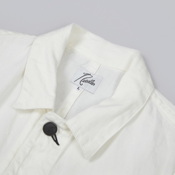 Needles Engineer's Coat - White (Image 1)