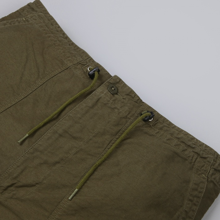 Needles Fatigue Short - Olive (Image 1)