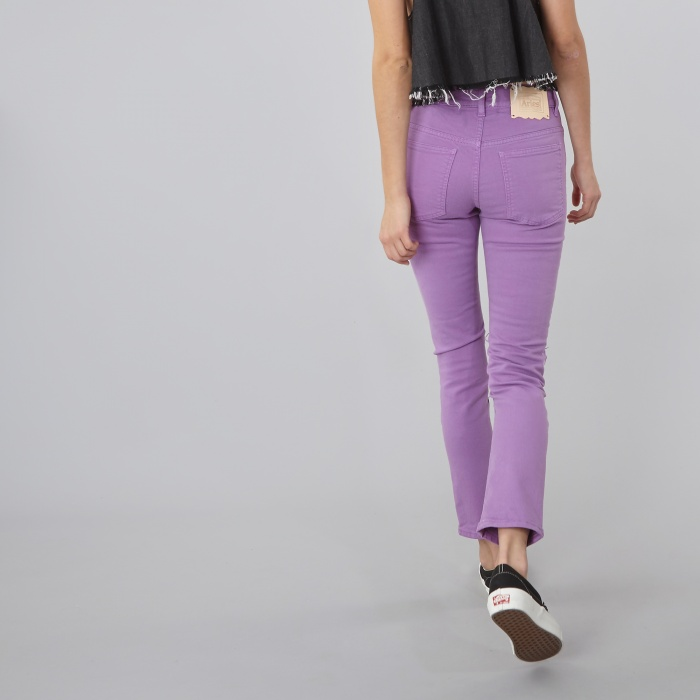 Aries Super Ripped Skinny Jean - Purple (Image 1)