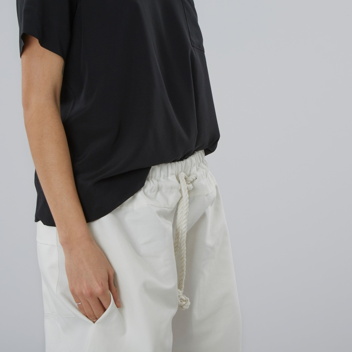 Von Sono Vonsono Long Shorts - White (Image 1)