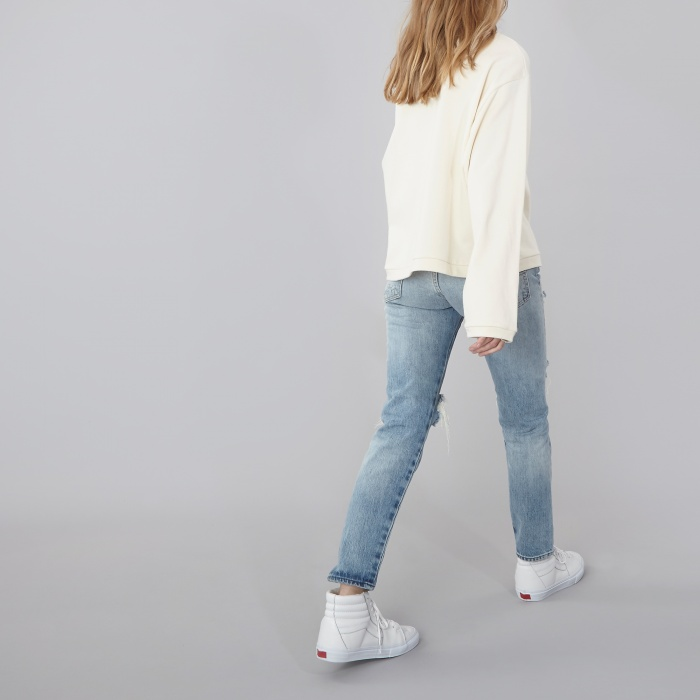 Baserange Base Range Loose Sweat - Off White (Image 1)