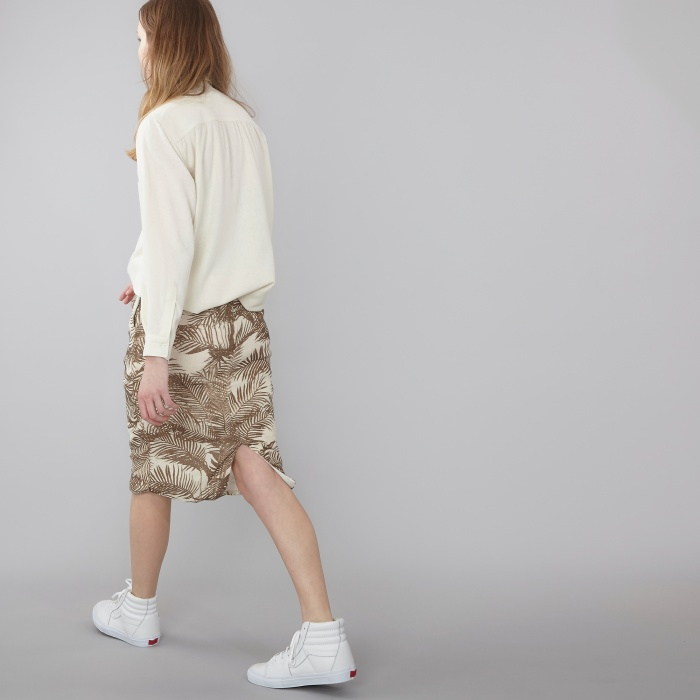 Baserange Base Range Basic Shirt - Off White (Image 1)
