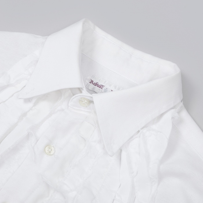 Needles Ribbon Shirt (XL) - White (Image 1)