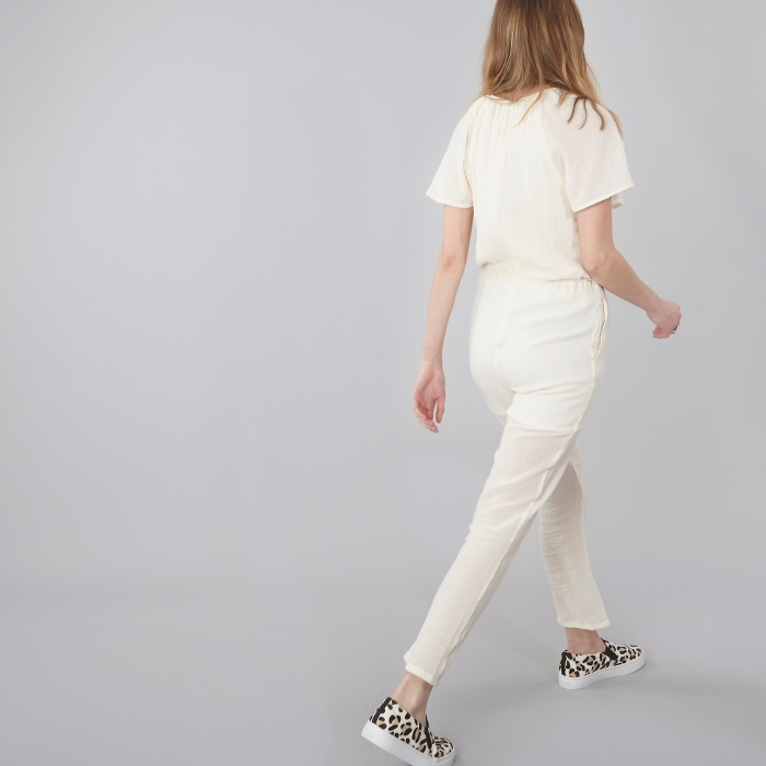 Objects Without Meaning Gia Jumpsuit - Chalk (Image 1)