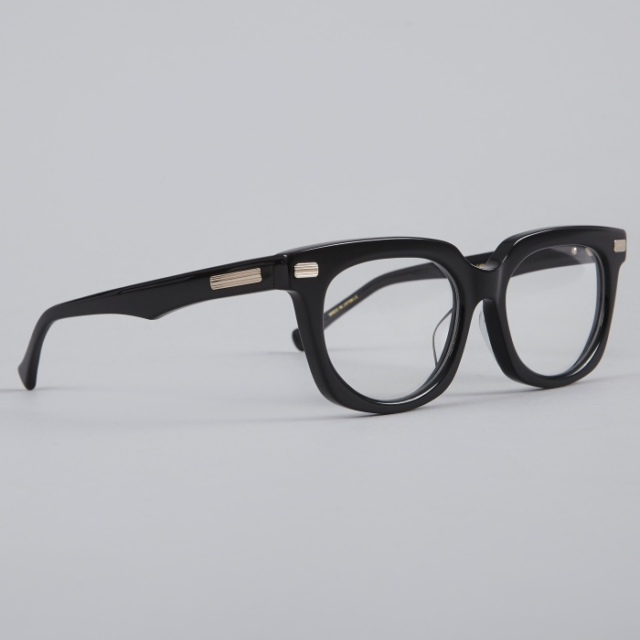 Native Sons Salinger Clear Glasses - Black (Image 1)