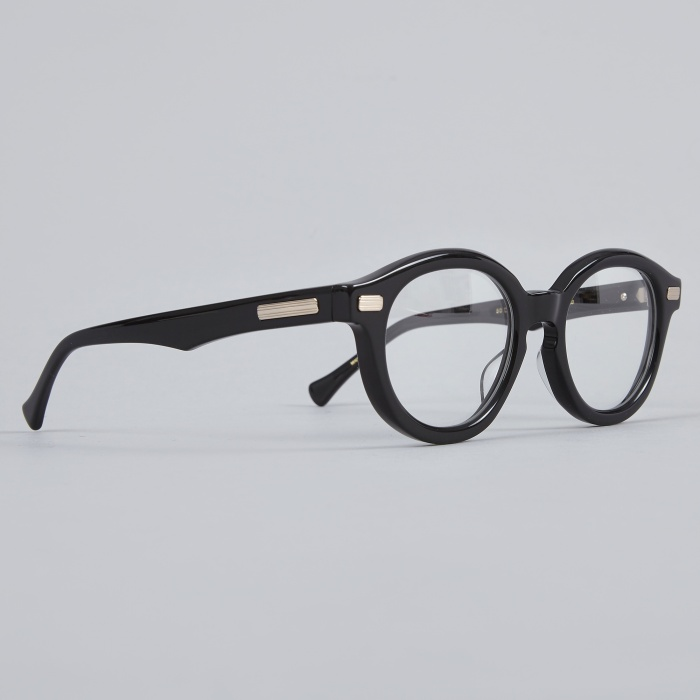Native Sons Kerouac Clear Glasses - Black (Image 1)