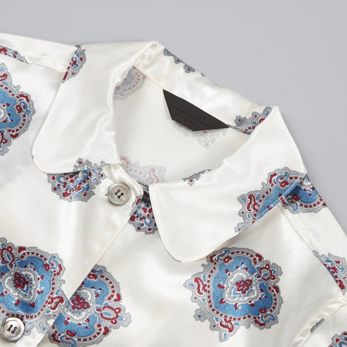 Unused Pattern Jacket - White (Image 1)