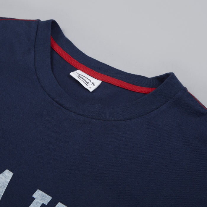 Unrivaled Pockety T-Shirt - Navy/White (Image 1)