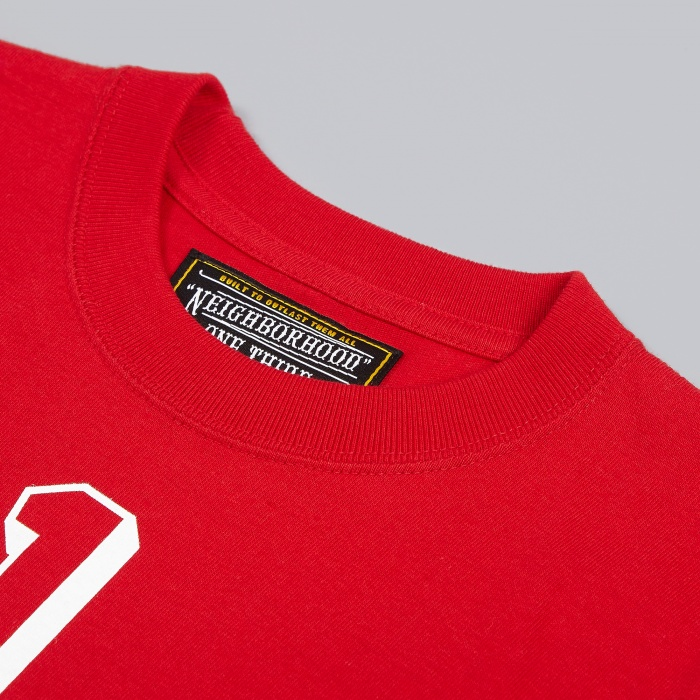 Neighborhood One Third Gents C-Tee SS - Red (Image 1)