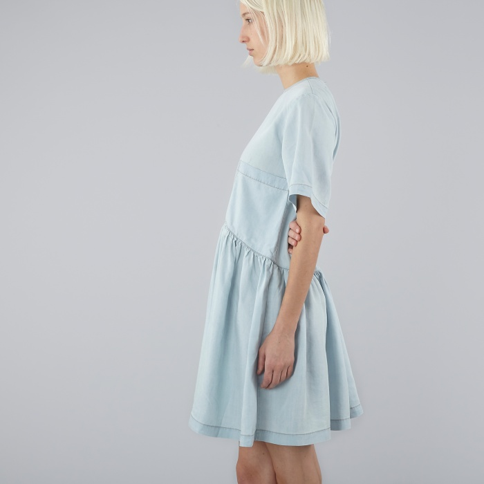 LF Markey L F Markey Piper Dress - Denim (Image 1)