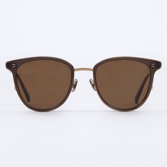 Eyevan 719E Sunglasses - Do Brown (Image 1)