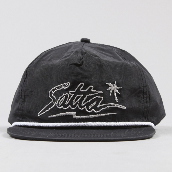 Satta Waveform Cap - Black (Image 1)