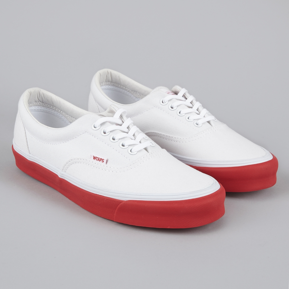 Exclusive Vans OG Era LX Wtaps White/Red