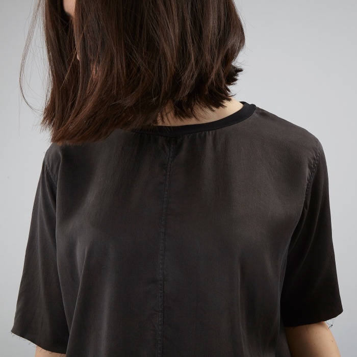 Aries Arise Shell Top - Black (Image 1)