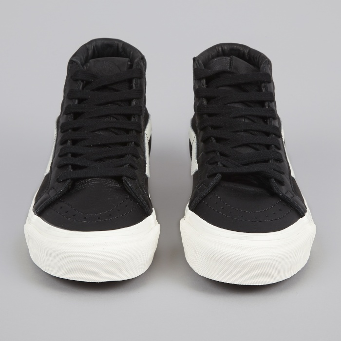 Vans Vault OG Sk8-Hil LX - Black/Pirate Black (Image 1)