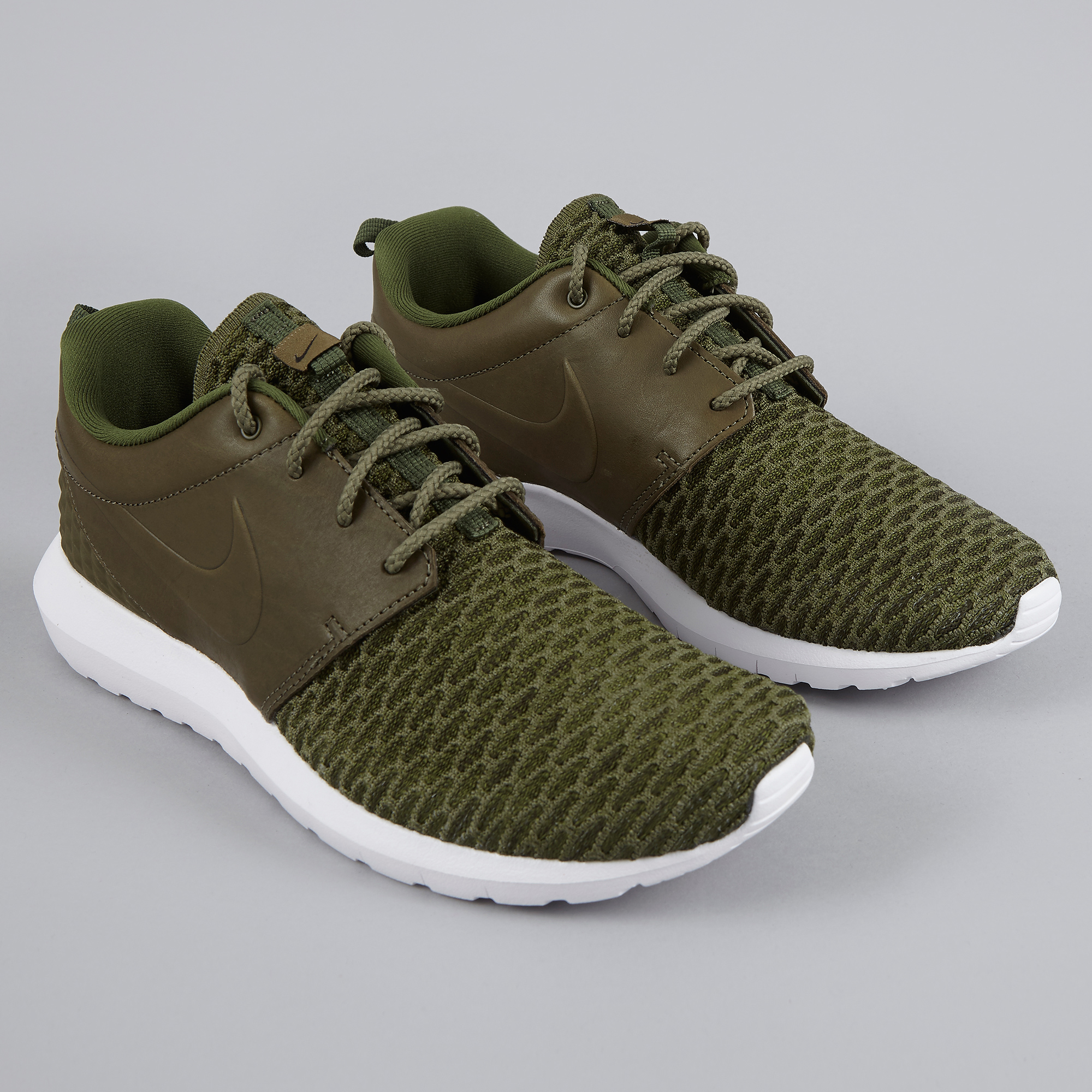 fc05fa765ce4 ... where to buy nike roshe nm flyknit prm rough green black 645b0 9a484 ...