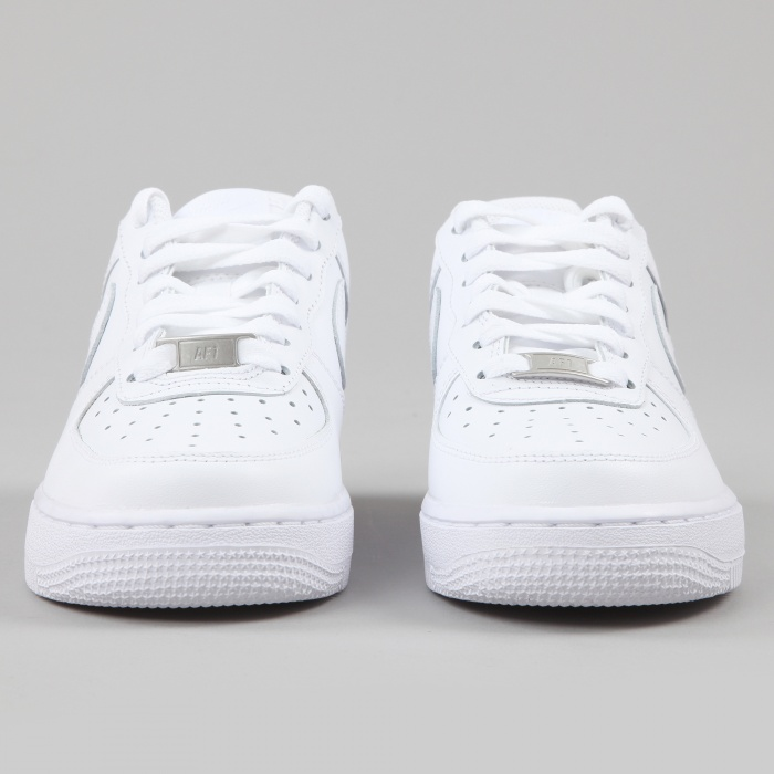 Nike Air Force 1 '07 - White/White (Image 1)
