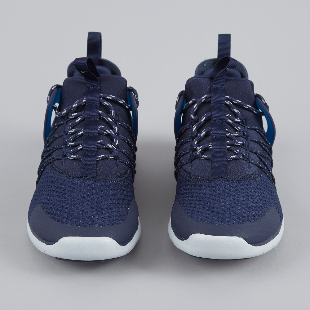 nike free virtuous navy white curtains