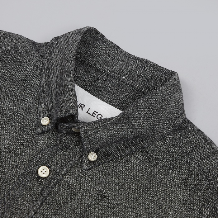 Our Legacy 1940's Shirt - Black Chambray (Image 1)