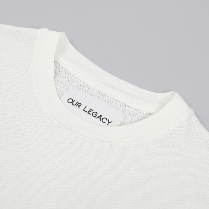 Our Legacy Pocket Tee - White Brick Crepe (Image 1)