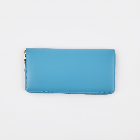 Comme Des Garcons Wallet Classic Leather L (SA0110) - Blue