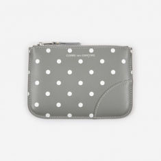 Comme Des Garcons Wallets Polka Dot Print (SA8100PD) - Grey