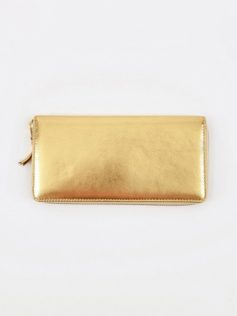 Comme des Garcons Wallet Classic Leather L (SA0110G) - Gold