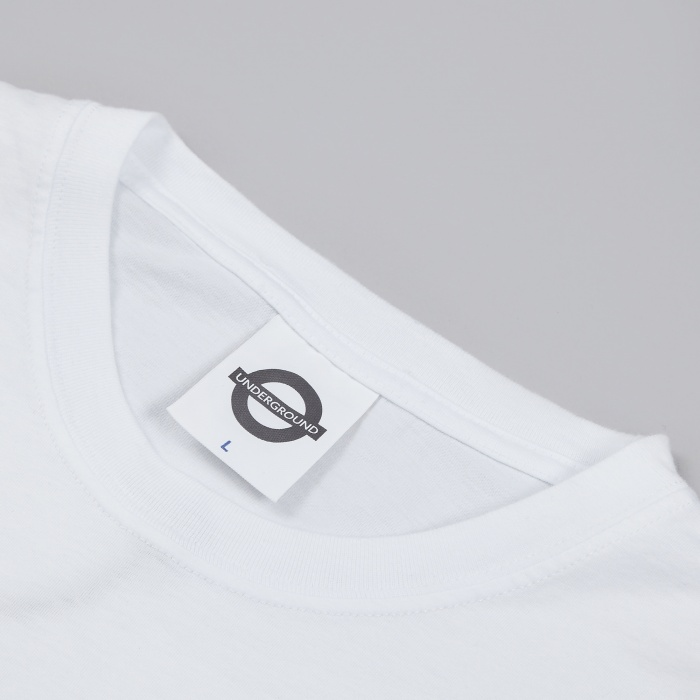 Roundel Freedom For The Suburbs LS Tee - White (Image 1)