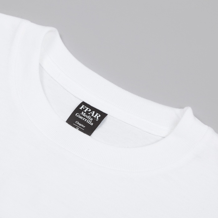FPAR Risk Taker Tee - White (Image 1)