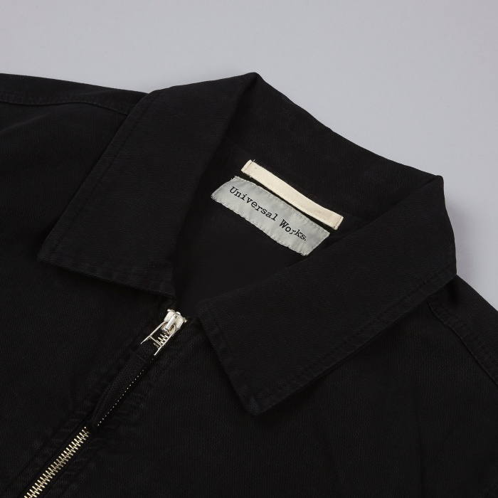 Universal Works Battle Jacket - Black (Image 1)