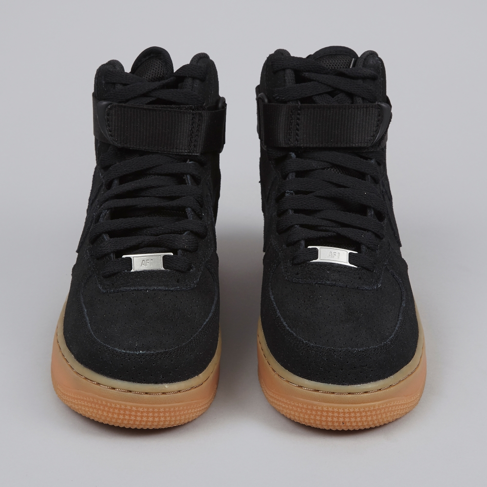 black air force 1 gum sole nz