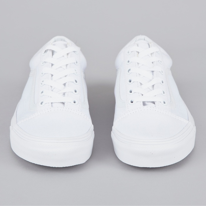 Vans Old Skool - True White (Image 1)