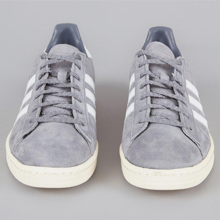 Adidas Campus 80s Japan Pack VNTG - Grey/White (Image 1)