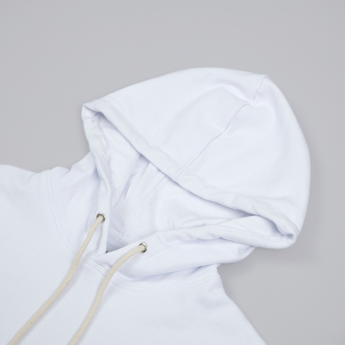 Soulland Eclipse Hooded Sweat - White (Image 1)