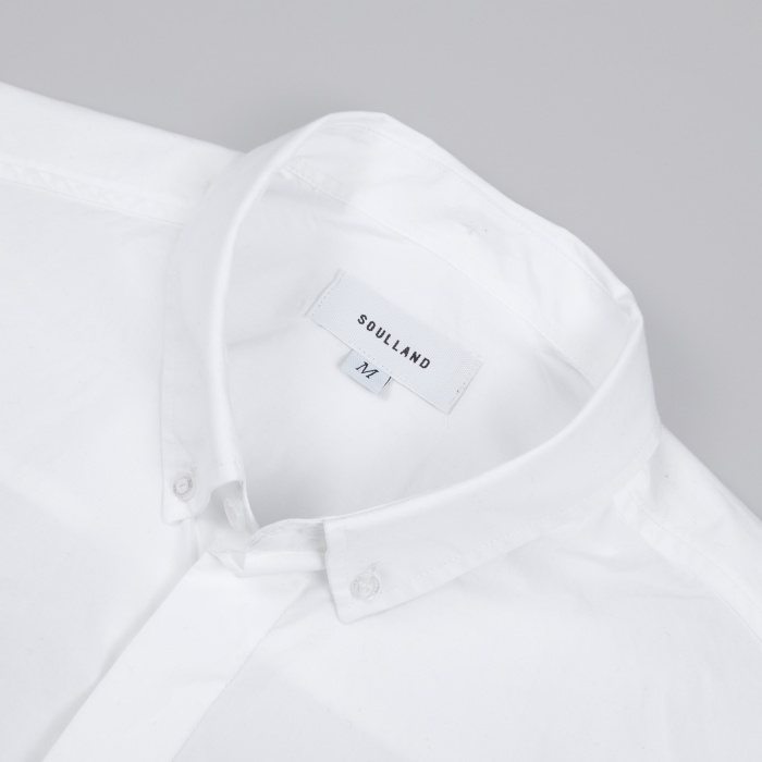 Soulland Neatherall Shirt - White (Image 1)