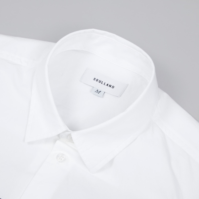 Soulland Hugo Shirt - White (Image 1)