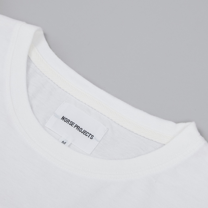 Norse Projects Niels Basic T-Shirt - White (Image 1)