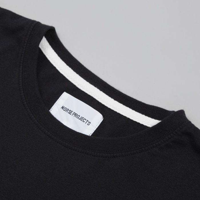 Norse Projects Niels Basic T-Shirt - Black (Image 1)