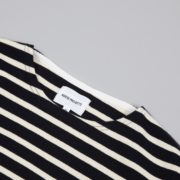 Norse Projects Godtfred Compact T-Shirt - Navy (Image 1)