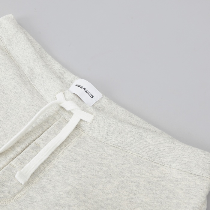 Norse Projects Ro Sweat Pant - Light Grey Melange (Image 1)