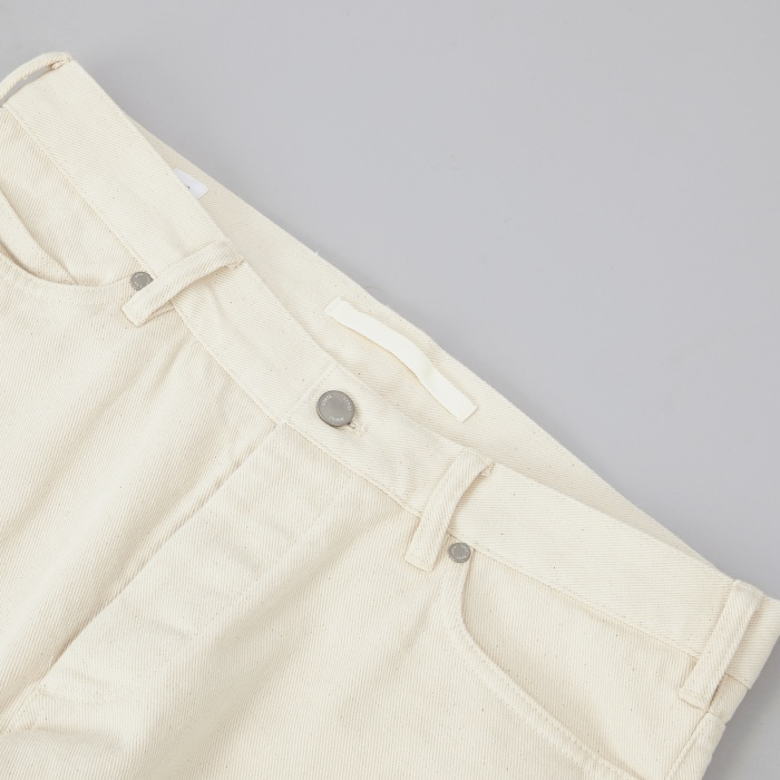 Norse Projects Edvard Heavy Twill Pant - Ecru (Image 1)