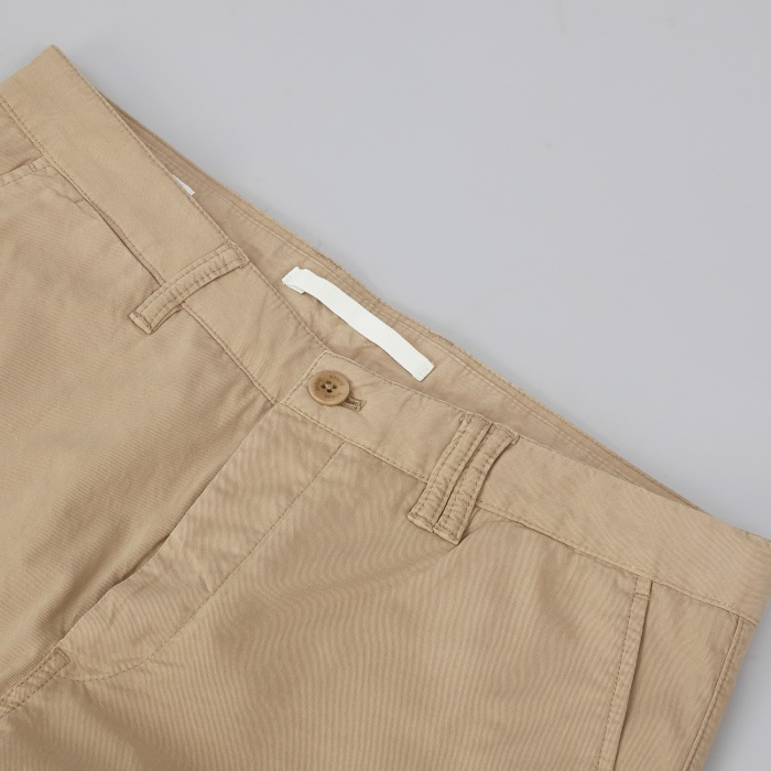 Norse Projects Aros Slim Light Twill Chino - Khaki (Image 1)