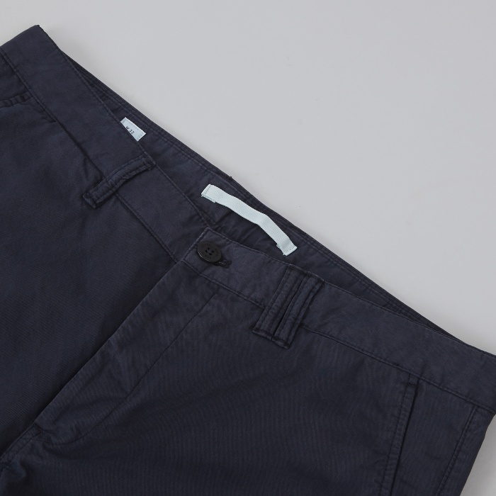 Norse Projects Aros Slim Light Twill Chino - Dark Navy (Image 1)