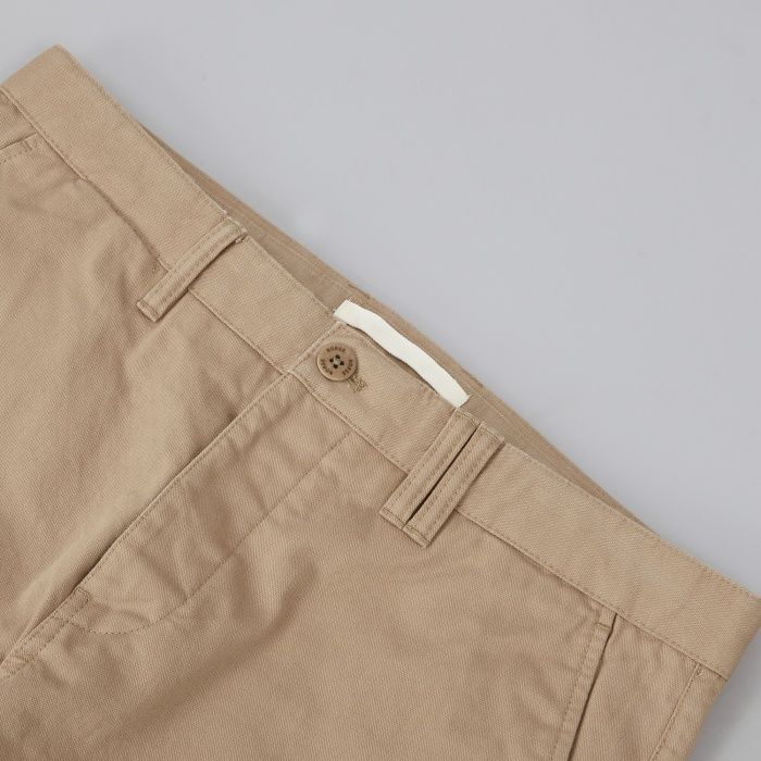 Norse Projects Aros Heavy Chino - Khaki (Image 1)