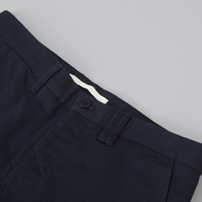 Norse Projects Aros Heavy Chino - Dark Navy (Image 1)