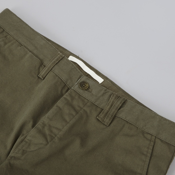 Norse Projects Aros Heavy Chino - Olive Drab (Image 1)