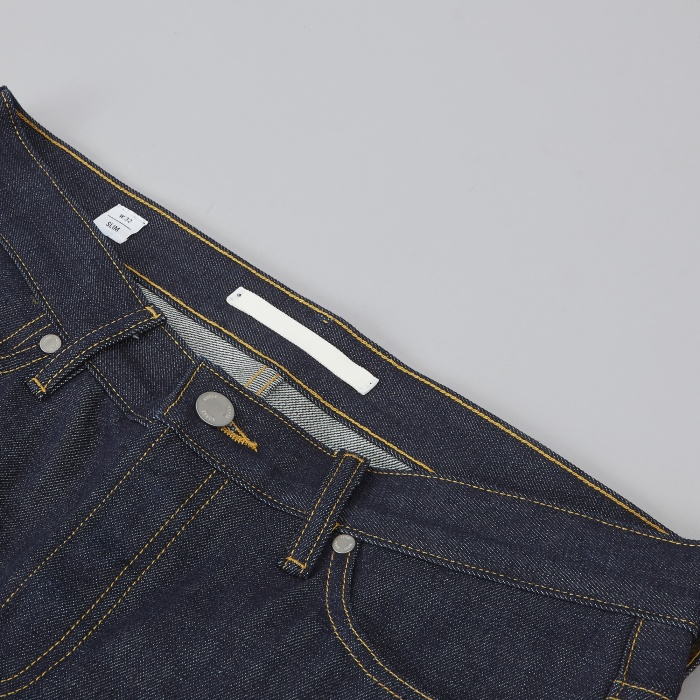 Norse Projects Slim Denim - Raw (Image 1)